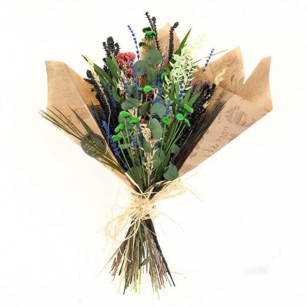 Ramo de flores secas y preservadas a domicilio en Toledo.