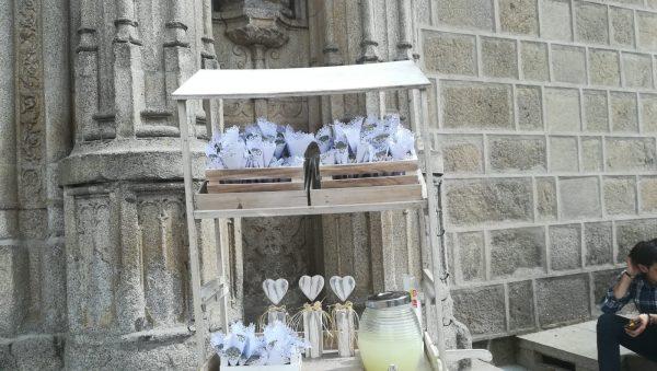 Carrito para bodas