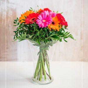 Ramo de flores compuesto de Gerberas a domicilio en Toledo