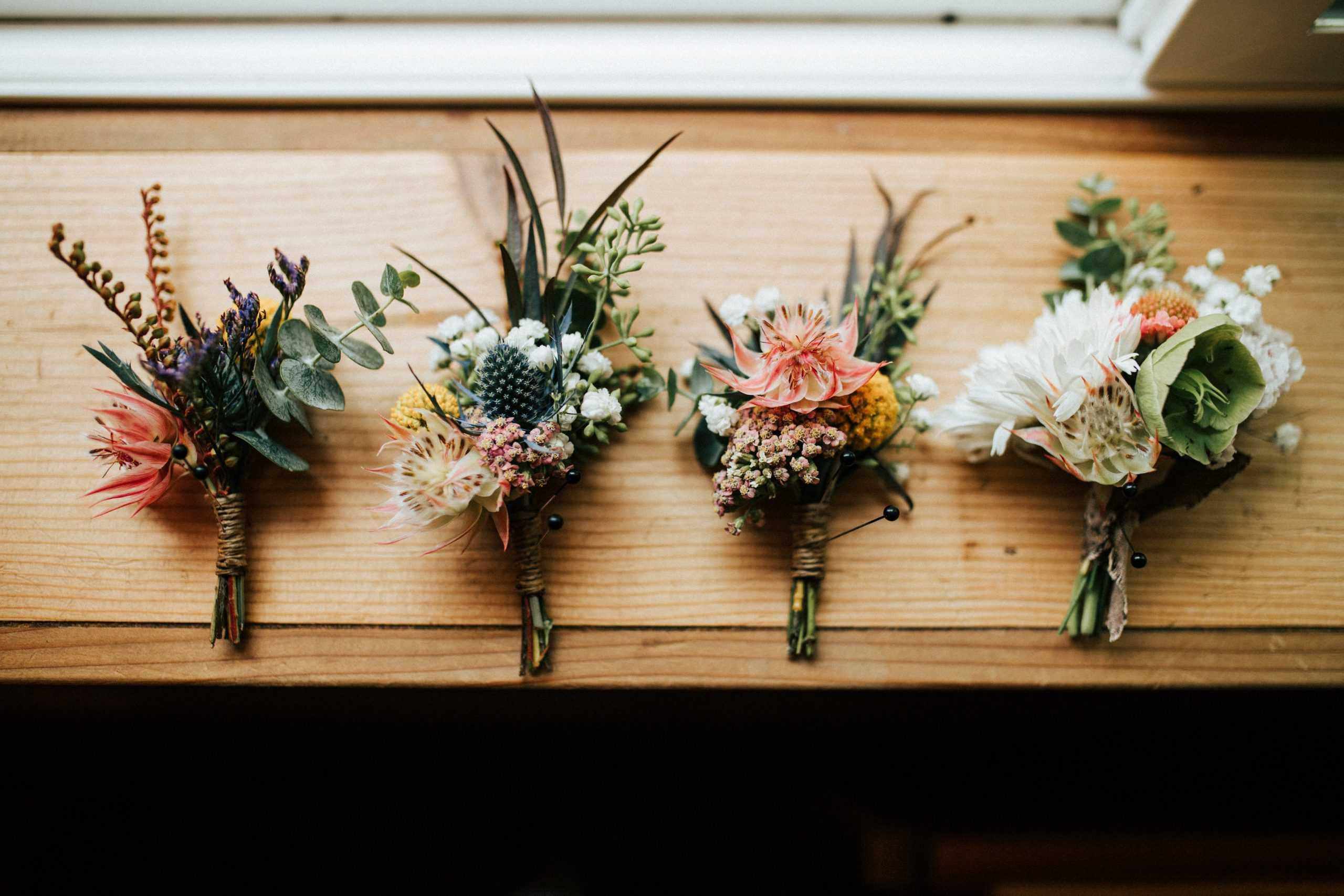 El simbolismo de los ramos de novia
