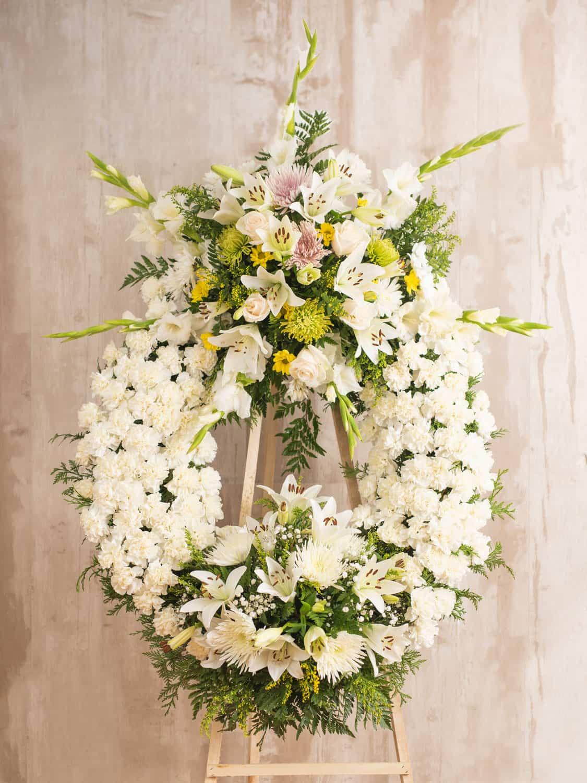 Corona de flores Tetiaroa