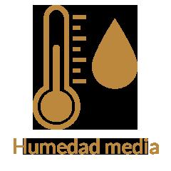 Humedad media