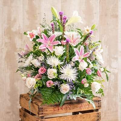 Centros de flores para tanatorios en Toledo