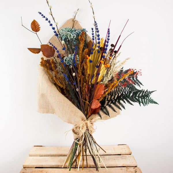 Ramo de flores preservadas a domicilio en Toledo.