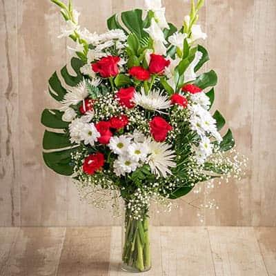 Ramos de flores para tanatorios en Toledo