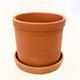 Maceta de barro para plantas de interior y exterior en Toledo.
