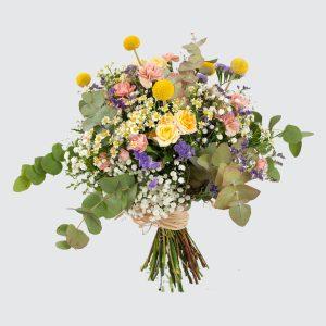 Ramo de flores fantasía a domicilio en Toledo.