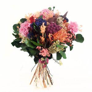 Ramo de flores preservada eden a domicilio en Toledo.